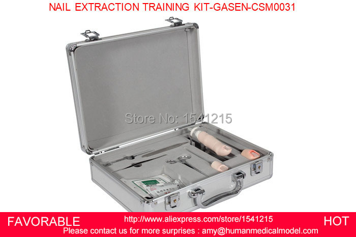 CARE SUPPLIES TRAINING MODELS MEDICAL NURSING PRODUCTS MEDICAL SKILLS TRAINING TOOLS NAIL EXTRACTION TRAINING KIT-GASEN-CSM0031 1 pair boxing training sticks target mma precision training sticks punching reaction target muay thai grappling jujitsu tools