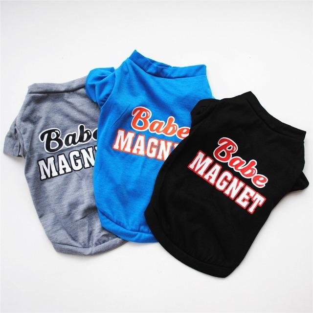 Babe Magnet Dog Shirt