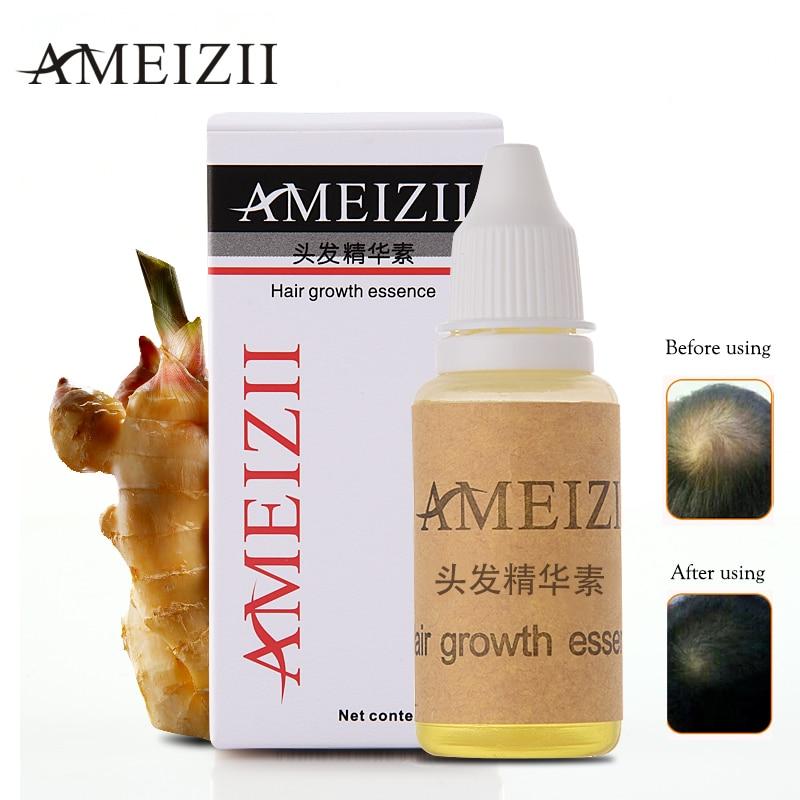 AMEIZII Hair Growth Essence Hair Loss Liquid Dense Fast Natural Pure Essential Oils