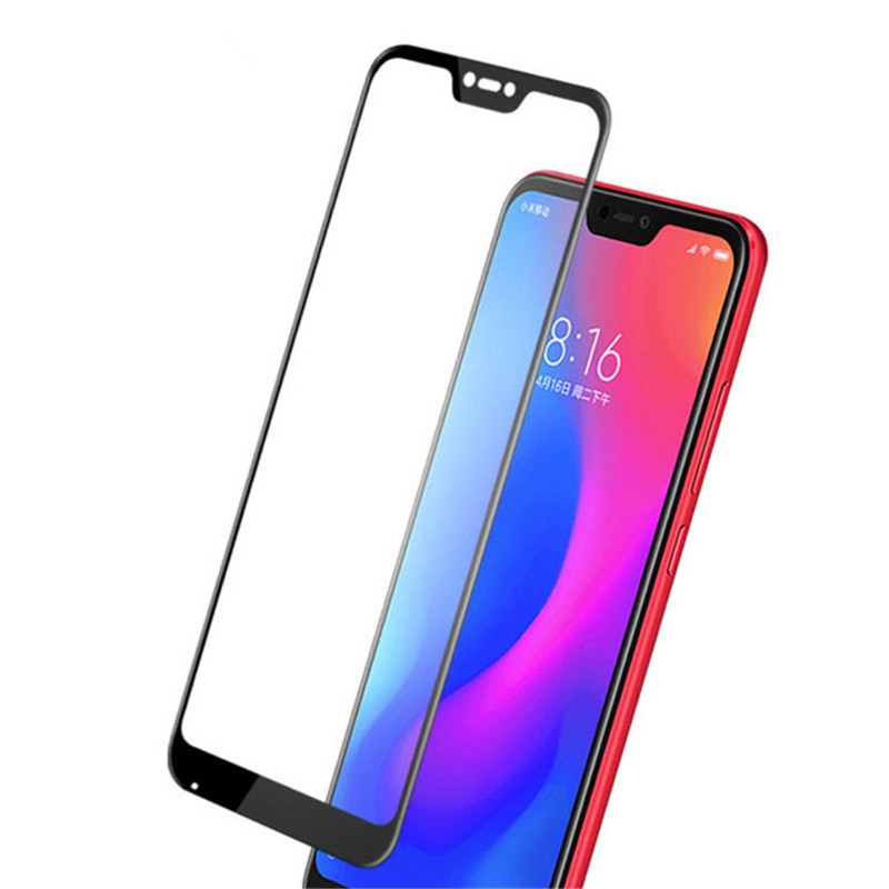 Image 3 - 2pcs LCD Screen Protector Xiaomi Mi 8 Lite Full Glue Glass Xiomi Mi 8 Lite 2.5D Full Cover Tempered Glass For Xiaomi Mi 8X Film^-in Phone Screen Protectors from Cellphones & Telecommunications