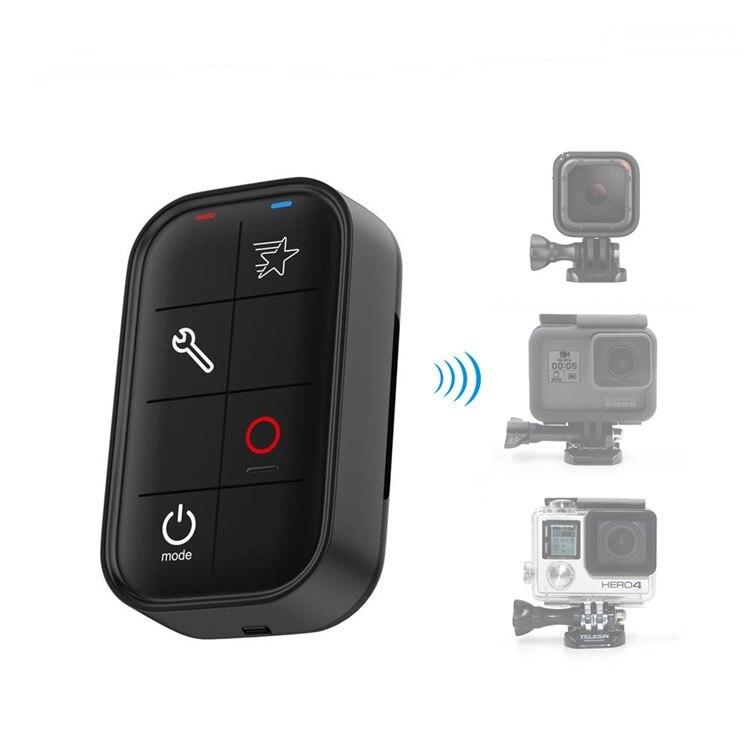 Télécommande pour GoPro HERO7/6/5/4 Session/4/3, bouton d'alimentation/Mode, bouton de raccourci, bouton d'obturation/sélection, bouton de réglage