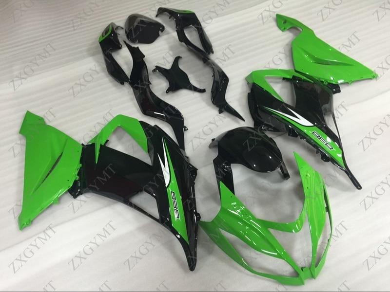 Abs обтекатель Zx6r 2013 2016 зеленый черный обтекатель ниндзя Zx 6r 15 16 Обтекатели 636 Zx 6r 2015