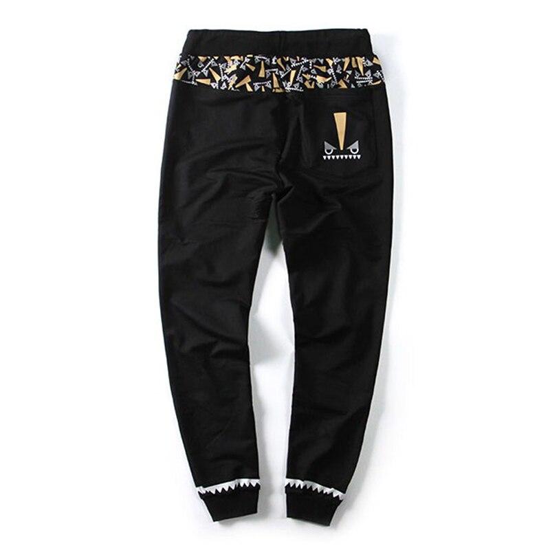 High Quality Cotton Sweatpants Jogger Men Streetwear Hip Hop Casual Loose Pant Male 5 Colors Harem