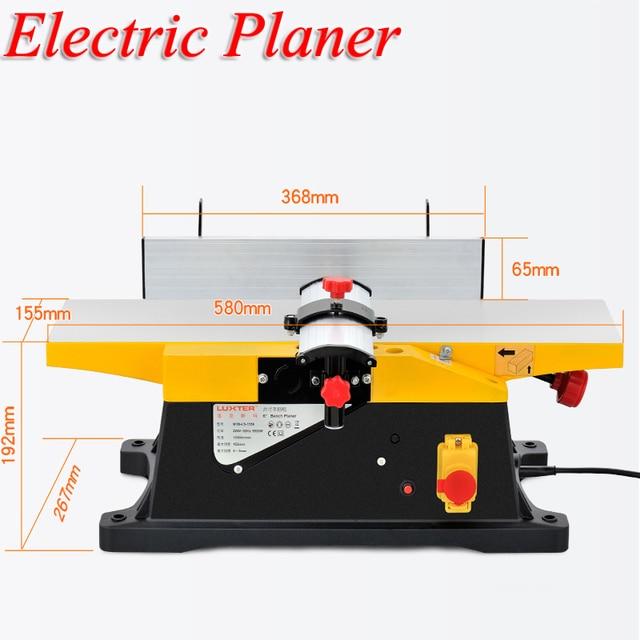 Planer Desktop Woodworking Planer Household Electric Tools