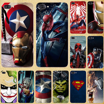 Super Hero Phone Case Cover For Asus Zenfone 4 Max ZC520KL Case Coque for Asus Zenfone 4 Max ZC520KL ZC520 KL X00HD 5.2 Bags image