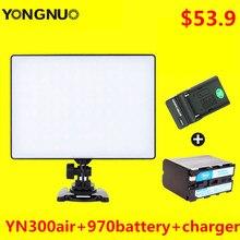 YONGNUO YN 300 Air YN300Air Pro LED Камера видео с F970 Батарея и Зарядное устройство для Canon Nikon Sony vlogging фотографии