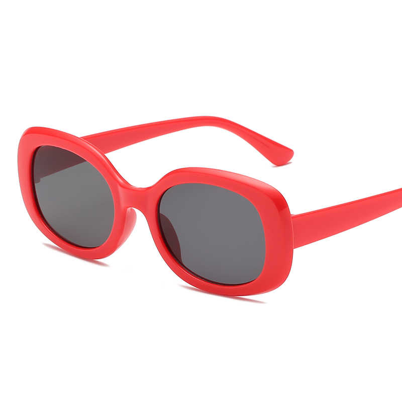 fb2cf51042d2 ... WOMEN Square novelty sunglasses WOMEN 2018 new hip hop style color  lenses retro glasses summer travel ...