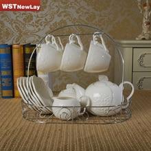Japanese Korean Style Brief Branches Freez Tactical Self Mug Holder Glass Tilt Tea Milk coffee Travel Hotel Dinner Cup Rack