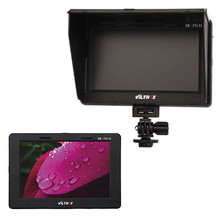 "Viltrox DC-70II 1024 * 600 7"" Clip-on Color TFT LCD HD Camera Video Monitor HDMI AV Input for Nikon Canon Sony DSLR Camcorder"