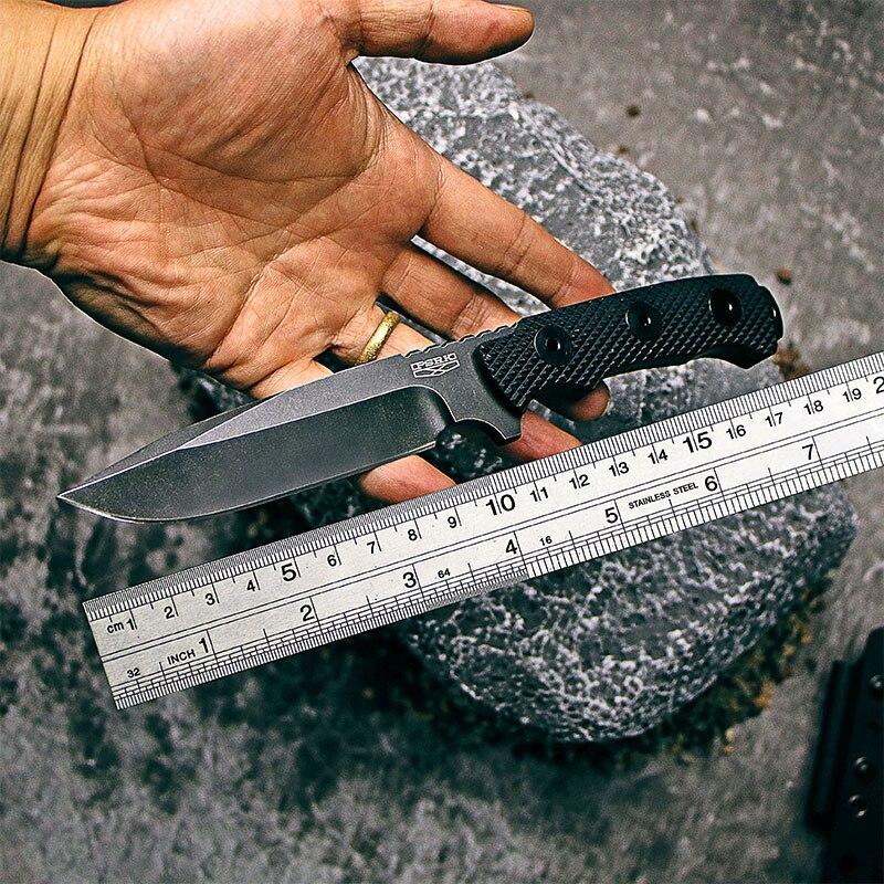 Couteau PSRK matou 60HRC haute qualité YTL8 lame G10 poignée extérieure EDC camping couteau outil de survie couteau tactique de chasse