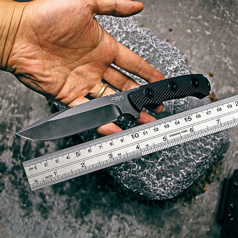 PSRK matou kés 60HRC Kiváló minőségű YTL8 penge G10 fogantyú kültéri EDC kemping kés túlélő eszköz vadászat taktikai kés