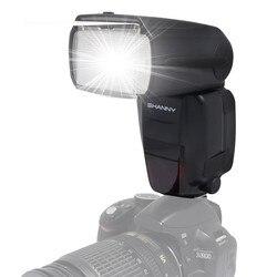 Mcoplus Shanny SN600EX-RF Flash 2.4G Wireless Build-in Radio E-TTL GN60 Master Slave HSS 1/8000s Speedlite for Canon DSLR Camera