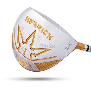 Image 4 - бесплатная доставка херрик гольф клуб древесины водитель мужчин правой ср R 10.25/s увеличилось на 30 ярдов в 2016 году нового высокого отскока