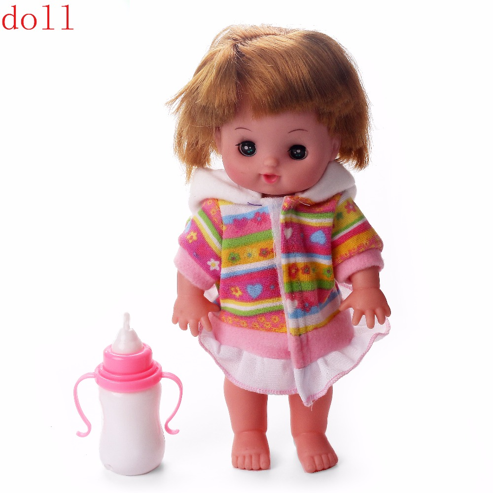 Children Playing Dolls