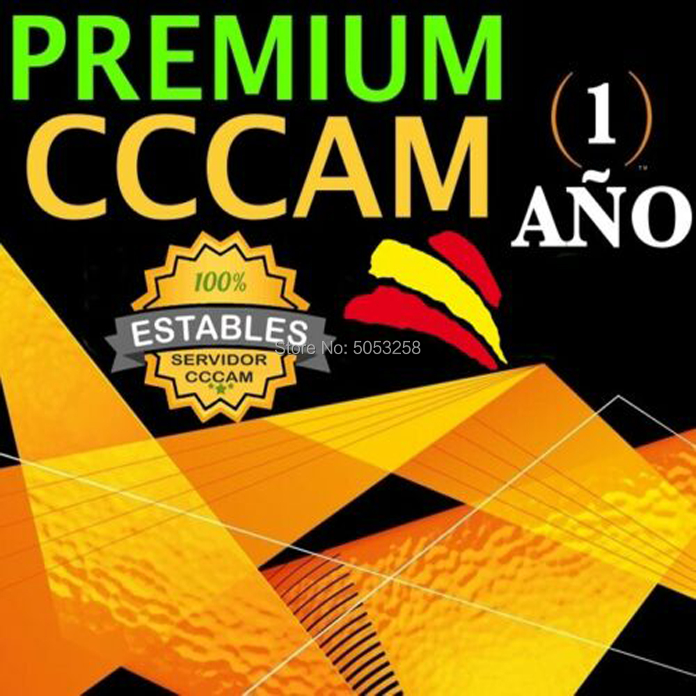 Contral Panel free Cccam Oscam Germany Ccam 1 year Spain for Freesat v8 same gtmedia v8 nova freesat v7(China)