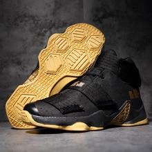 Betonnen vloer hoge buiten basketbalschoenen mannen kinderen goedkoop paar volwassen James Harden coole sneakers zapatos baloncesto Heet zwart