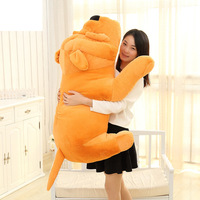 Big Plush Dog Lying Toy Large Size Stuffed Animal Pillow Doll 60cm Best Gift And Decoration