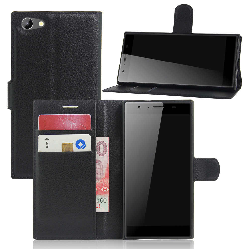 Book Style PU Leather Case Cover for DOOGEE Y300 Flip Wallet Phone Bags Cases with Stand for DOOGEE Y300
