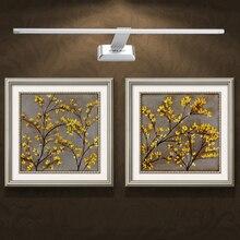 Высокая Люмен СВЕТОДИОДНЫЙ Кристалл косметическое Зеркало Передние Фары Ванная Комната Спальня Освещение Изображения Перед Бра
