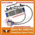Dirt Pit Bike Mono DAX 50cc a 125cc 140cc JC motocicleta Enfriador De Aceite Del Radiador de Refrigeración Piezas de Ajuste Horizontal Motor Gratis gratis