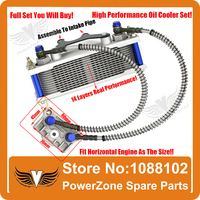 Dirt Pit Monkey Bike DAX JC 50cc To 125cc 140cc Motorcycle Oil Cooler Radiator Cooling Parts