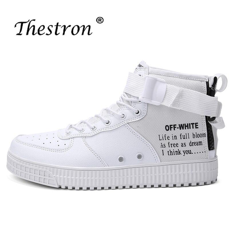 Se De Para Amantes Branco hon Sapatos Luxo Dos hei Top Flats Confortáveis Da Pu Mi Homens Jovens bai Casuais Se Marca O Menino Preto Se Casais Se Alta Couro wSIq45