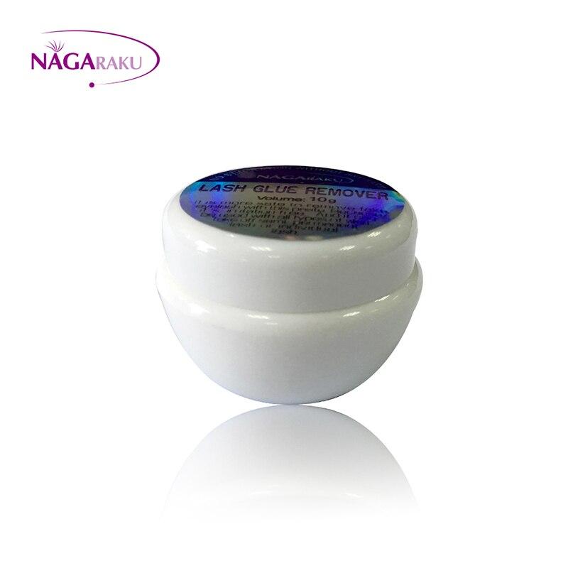Image 2 - NAGARAKU makijaż klej do przedłużania rzęs Remover magnetyczne rzęsy 10g 5 sztuk zestaw szybkie bezpieczne rzęsy środek do usuwania kleju nie iirytationglue stain removalglue shoesremove feathers -