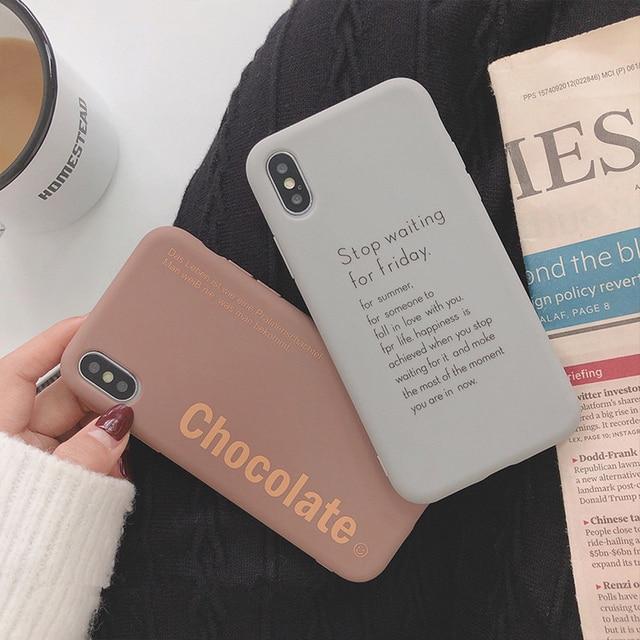 Soft TPU Case For iPhones Slim Couple Case 2