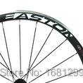 Новейший 700C 38 мм клинчер диски дорожный велосипед 3K UD 12K Углеродное волокно велосипед колесная установка V тормоз с легированной тормозной п...