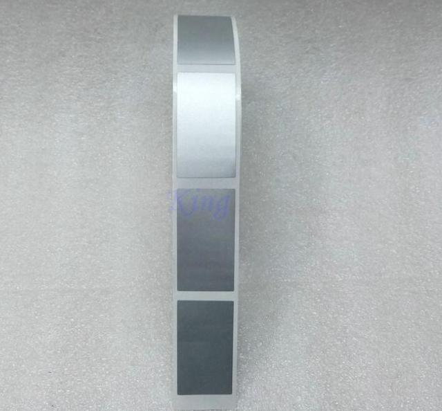 100 piezas 23x42mm plata oro rayado pegatina DIY manual etiqueta cinta hecha a mano rayada raya tarjeta película
