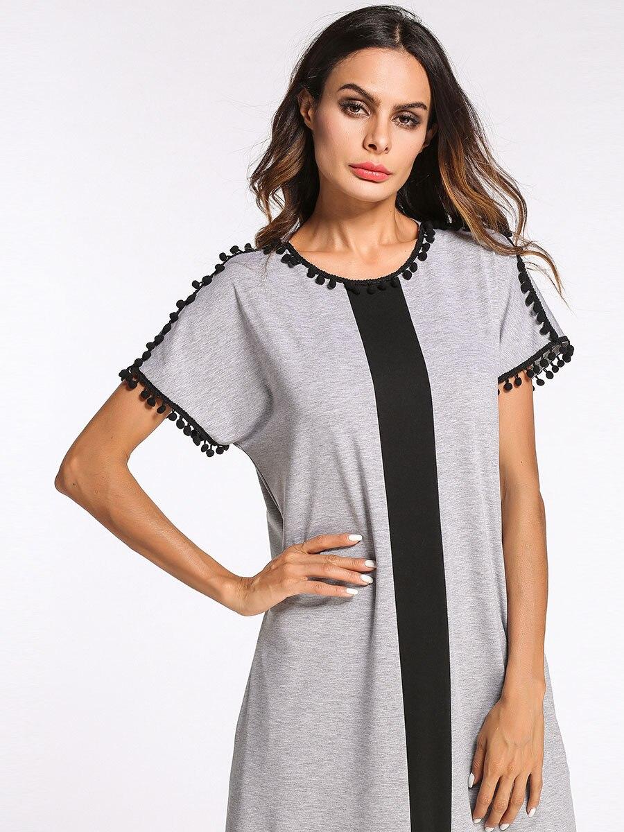 Women's Nightgown Cotton Nightgowns Long Plus Size Nightwear Casual Sleepwear Homewear Dress Big Size Nightghtdress Sleep Dress 2