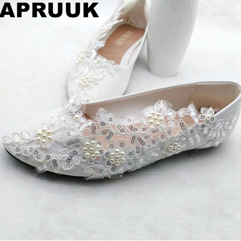 Ballet flats silver sequins lace wedding shoes woman flat heel round toes spring autumn lady proms dress party bridesmaid flats все цены