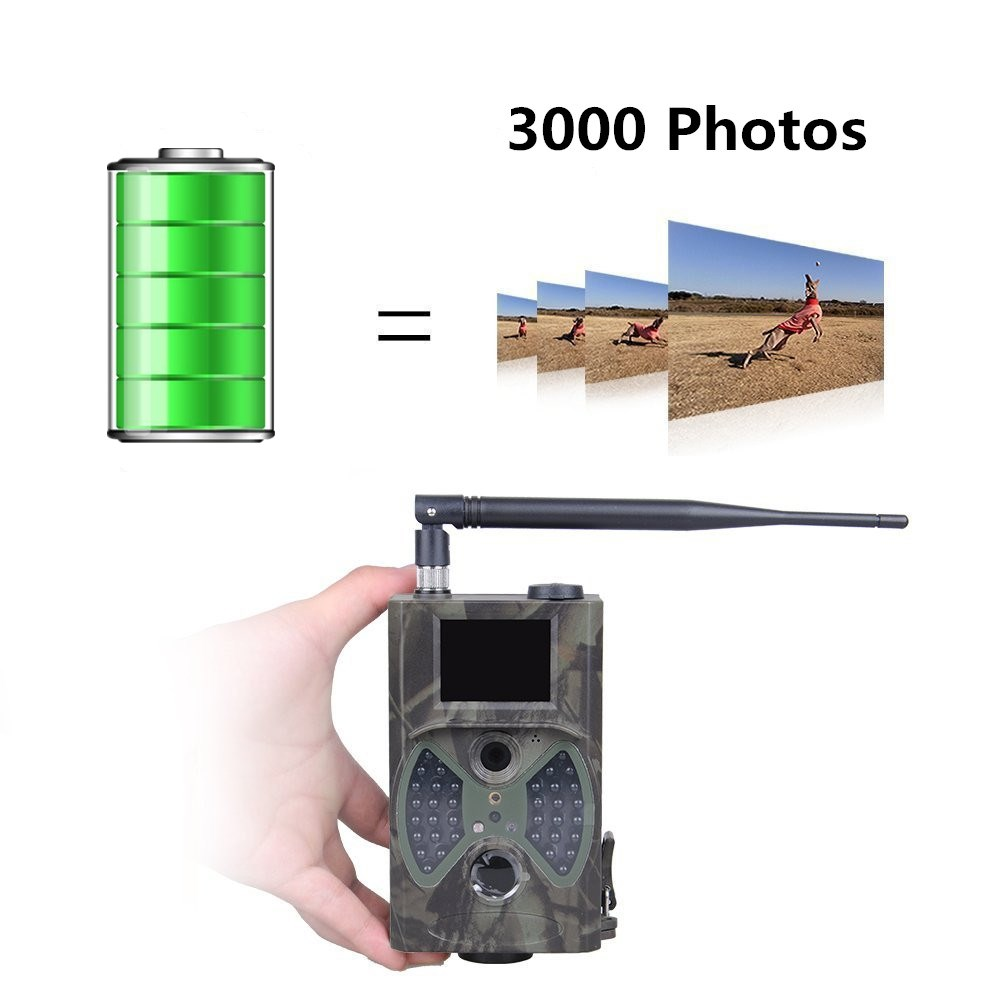 Outdoor Night Vision Hunting Camera HC-300M Hunting Animal Photo Traps Camera Motion Trigger Invisible 940nm Wildlife Cameras