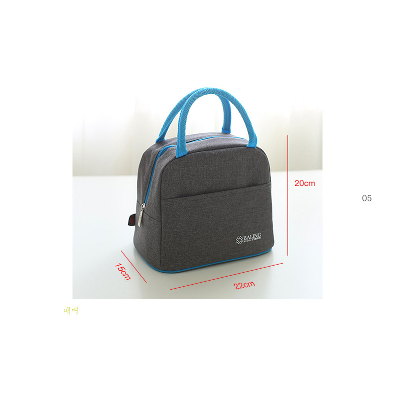 9d40a4840025 2017 Oxford Cylindrical Sac A Lunch Isotherme Insulation Ice Pack Bottle  Sleeve Picnic Lunch Box Lunch Package Bags Cooler Bags