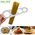 HILIFE Pasta Nudel Messen Küche Zubehör 4 Löcher Spaghetti Vermesser Edelstahl 1Pcs-in Spaghetti-Messer aus Heim und Garten bei