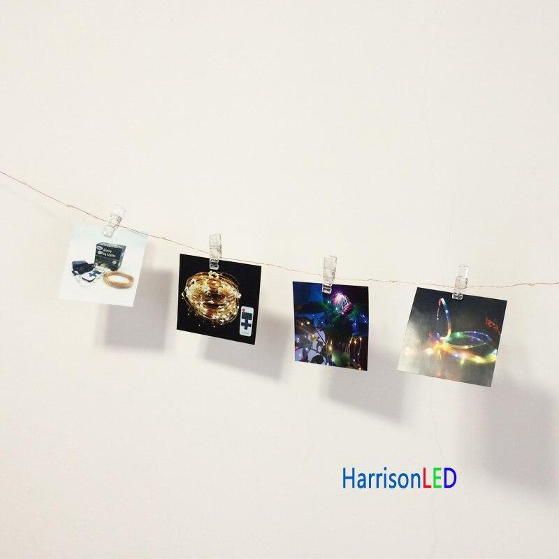 HarrisonTek10x 33ft100 СИД Мерекелік шамдар мыс - Мерекелік жарықтандыру - фото 5