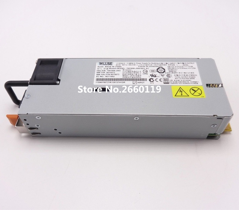 Server power supply for X3550 X3650 M4 94Y8072 94Y8073 7001606-J000 900W fully tested objective first workbook with answers cd