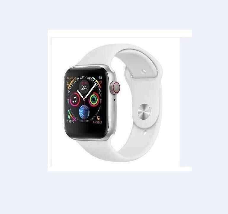 Reloj inteligente IWO 8 MTK2502C reloj deportivo bluetooth 1:1 44mm serie 4 Monitor de frecuencia cardíaca Bluetooth para IOS android