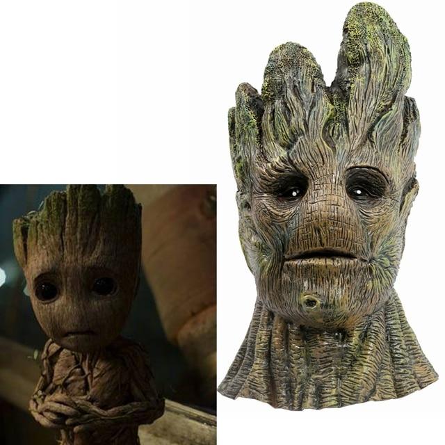 Coslive Groot Cosplay Guardians of the Galaxy Groot Mask Avengers Infinity War Groot Figure Tree Man Cosplay For Unisex 1