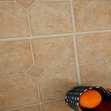 Retro emulation marble floor bedroom living room background environmental protection self adhesive waterproof PVC Floor sticker