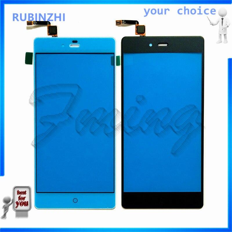 RUBINZHI Touchscreen Sensor Für ZTE Nubia Z9 Max NX510J NX512J NX518J Touchscreen Digitizer Vorderen Äußeren Glas Panel Ersatz
