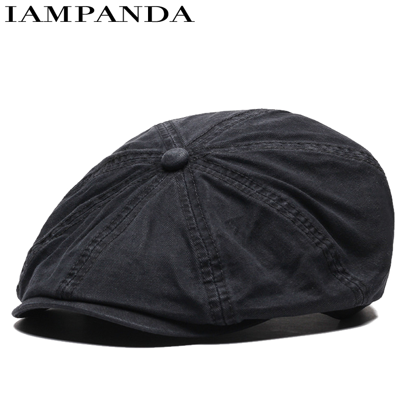 2017 Real 8 New Pattern England Restore Ancient Ways Octagonal Hat Male For Peaked Cap Woman Beret Fashion Leisure Time Hats