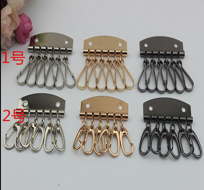 (10 PCS/lot) 3 Color DIY Craft Handbags Metal Sewing Leather Hand Key Hardware Accessories
