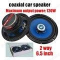 2x5 pulgadas venta caliente del altavoz estéreo del coche de altavoces del automóvil coaxial audio altavoz universal para todos los coches con el sonido perfecto de 2 vías 2x120 W