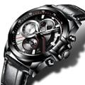 CADISEN reloj de Los Hombres de la Marca de Lujo Del Deporte Militar de Cuarzo Reloj de Pulsera de Los Hombres del ejército Reloj de los hombres de acero lleno relogio masculino 2016