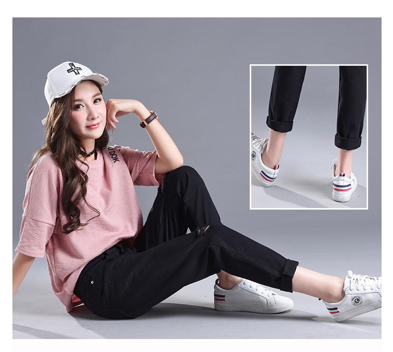 HTB1Y8K4SpXXXXaKapXXq6xXFXXX0 - Women High Waist Jeans Ripped Solid JKP127