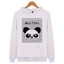 Panda Sweatshirts 2018 Sweat shirt Funny 3d hoodies womens Clothing women Cool font b Anime b