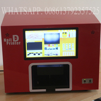Free Shipping CE Approval 5 Nails Printer Machine Various Languages Spporting