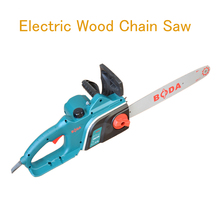16 Inch Electric Wood Chain Saw 1600W Household Wood Logging Saws Electric Woodworking Saw