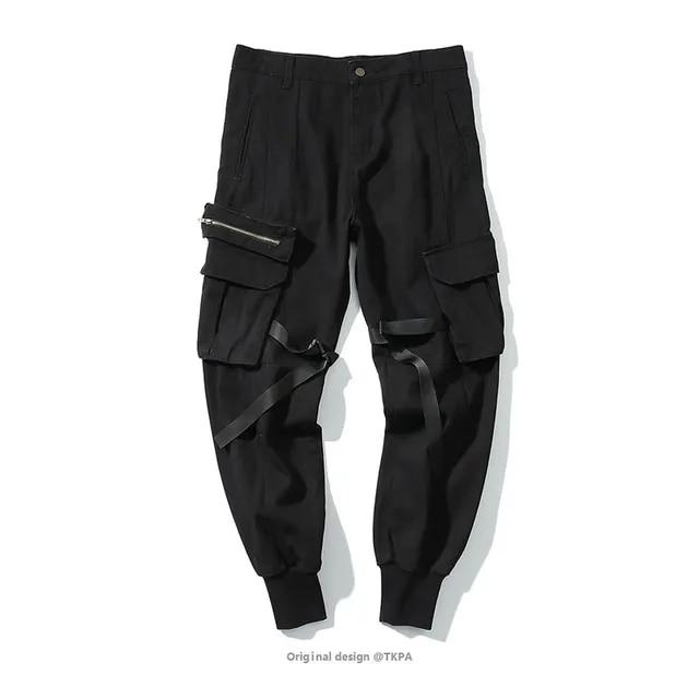 Men Casual High Quality Cotton Camouflage Pants Male Streetwear Fashion Hip Hop Cargo Pant Jogger Harem Trousers Sweatpants